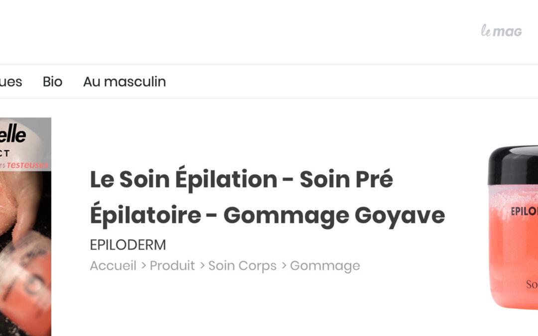 soin_épilation_pré épilatoire_gommage_goyave