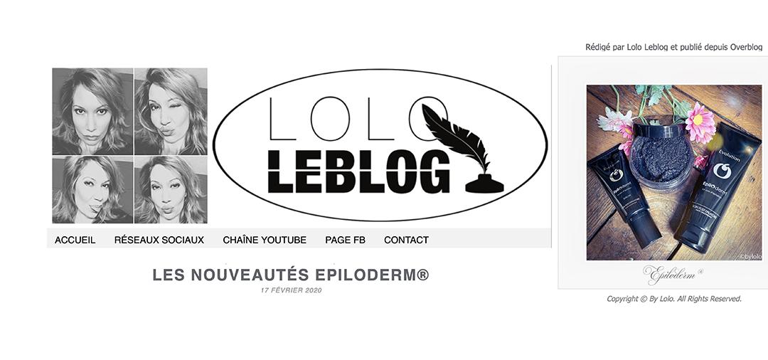 ACTUALITES / VU SUR LOLOLEBLOG.COM / FÉVRIER 2020